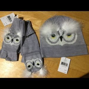 💎Just Listed💎Kate Spade Who Me Mittens & Hat NWT